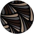 rug #573173 | round beige retro rug