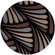rug #573177 | round black rug