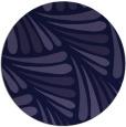 rug #573245   round blue-violet retro rug