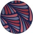 rug #573253   round blue-violet retro rug