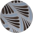 rug #573273   round blue-violet retro rug