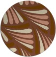 rug #573305 | round mid-brown popular rug