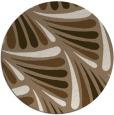 rug #573313 | round beige rug