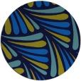 rug #573332 | round retro rug