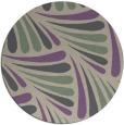 rug #573341 | round beige retro rug
