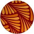 rug #573350 | round retro rug