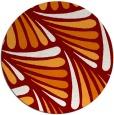 rug #573355 | round retro rug