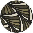 rug #573469   round black retro rug