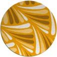 rug #573497 | round light-orange popular rug