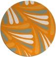 rug #573505   round light-orange rug