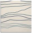 rug #575649   square white stripes rug