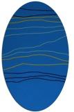 rug #576145   oval blue popular rug