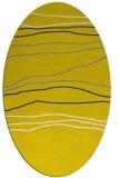 rug #576277 | oval white popular rug