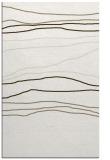 rug #576329 |  white stripes rug
