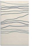 rug #576353 |  white stripes rug
