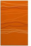 rug #576589    red-orange stripes rug