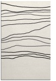 rug #576601 |  black stripes rug