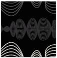 rug #580909 | square black circles rug