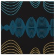 rug #580925 | square mid-brown circles rug