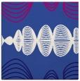 rug #581009 | square blue-violet retro rug