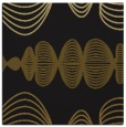 rug #581021 | square black abstract rug