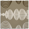rug #581045 | square white abstract rug