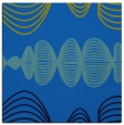 rug #581073 | square blue abstract rug