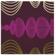 rug #581133 | square purple circles rug