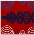 rug #581145 | square red retro rug