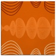 rug #581165   square red-orange circles rug
