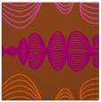 rug #581169 | square red-orange circles rug