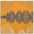 rug #581253 | square light-orange abstract rug
