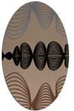 rug #581275 | oval abstract rug
