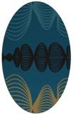 rug #581279 | oval circles rug