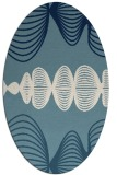 rug #581284 | oval circles rug