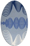 rug #581299 | oval abstract rug