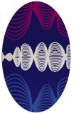 rug #581362 | oval circles rug