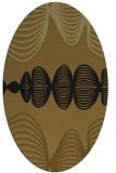rug #581376   oval abstract rug