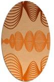 rug #581518 | oval abstract rug