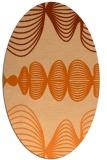 rug #581520   oval abstract rug