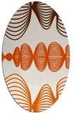 rug #581525   oval red-orange circles rug