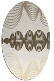 rug #581550 | oval abstract rug
