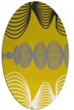 rug #581557 | oval white circles rug