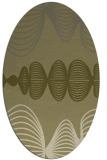 rug #581592 | oval circles rug
