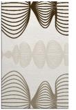 rug #581609 |  beige circles rug