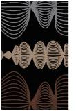 rug #581625 |  brown retro rug