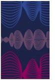 rug #581637    blue abstract rug
