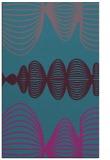 rug #581673 |  pink abstract rug