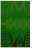 rug #581677 |  green circles rug