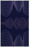 rug #581693    blue-violet circles rug